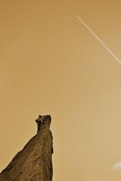 On the Fin with a jet, Jurassic Park; Estes Park Colorado
