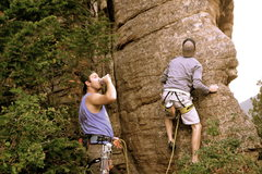 Rock Climbing Photo: on belay?