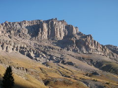 Rock Climbing Photo: Dallas Peak from the Sneffels Highline Trail