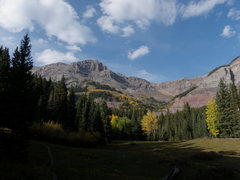Rock Climbing Photo: Dallas Peak from the meadows on the Mill Creek Tra...