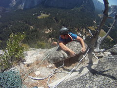 Rock Climbing Photo: Hanging out on Royal Arches