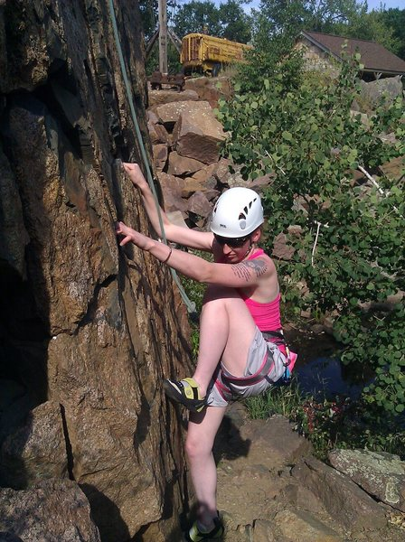 Rock Climbing Photo: Quarry Park!