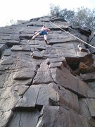 Rock Climbing Photo: Second route at Taylor's Falls!
