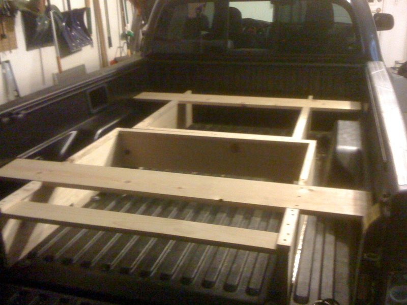 an independent 2 box frame allows for ease of removal