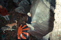 Rock Climbing Photo: Ryan on the Flying Mancuso.