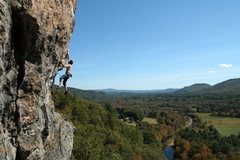Rock Climbing Photo: this crux can be done statically but it's fun to j...