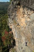 Rock Climbing Photo: jeff and jared pitch one... beautiful morning