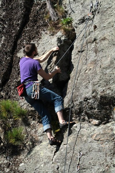 Rock Climbing Photo: fun to the very top!