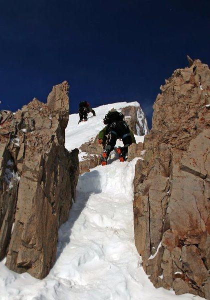 Rock Climbing Photo: Engineer in feb.