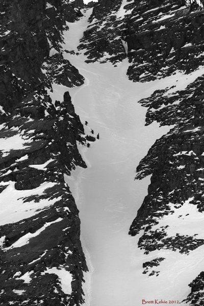 Naked Lady on Snowdon Peak