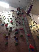 Rock Climbing Photo: crushing 5.5