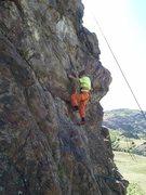 Rock Climbing Photo: Owen.