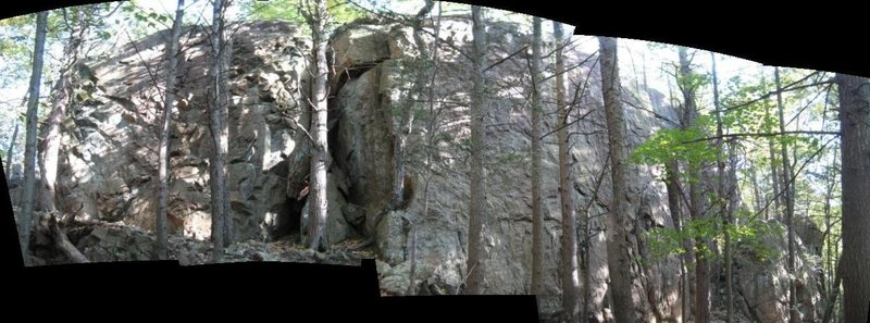 Piss-poor panorama of Porcupine