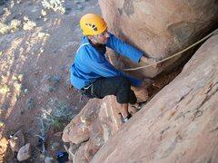Rock Climbing Photo: drake pullin it
