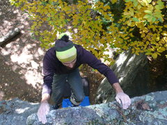Rock Climbing Photo: I'm such a good spotter, I should pat myself on th...