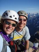 Rock Climbing Photo: Brie's first glacier climb