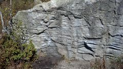 Rock Climbing Photo: This is the Western Face of the Eastern Warmup Bou...