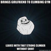 Rock Climbing Photo: gymsaddness