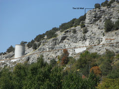 Rock Climbing Photo: the approach to 5.8 wall. the picture taken from t...