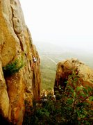 Rock Climbing Photo: Me climbing Sam I am. Sport. 5.8. This climbs real...