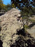 Rock Climbing Photo: Razor's Edge (aka Butter-knife)