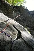 Rock Climbing Photo: Dixie Chicken, 5.10a.