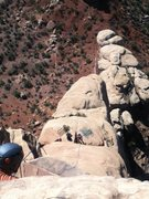 Rock Climbing Photo: Independence Monument Otto' Route