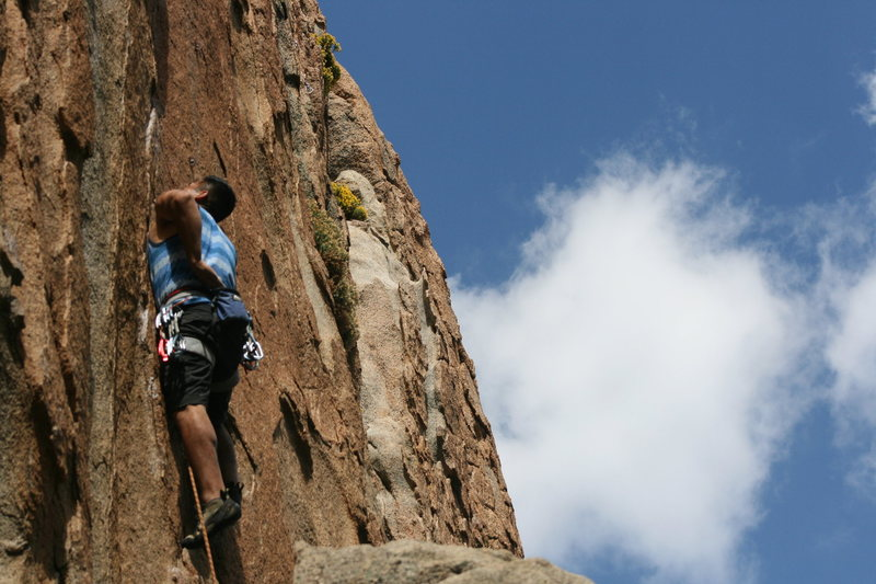 Rock Climbing Photo: Alex from Whittier on Holy Fingers.