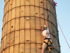 Rock Climbing Photo: Dry tool night on the silo, Sept.29th.