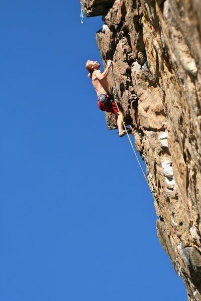 Rock Climbing Photo: Steve Z, photo by G. Parker.