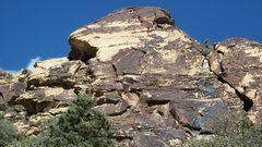 Rock Climbing Photo: Gold Digger slab and route.