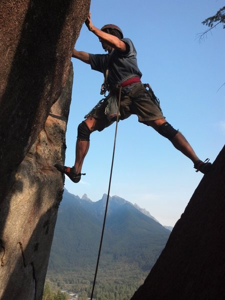 Scenic and fun climbing at Lookout Point (start of HITAGA route).