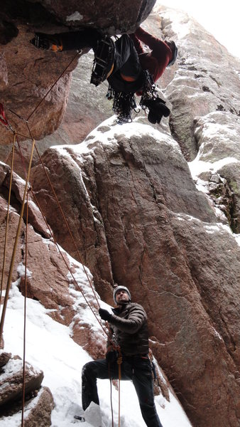 Rock Climbing Photo: M fun!