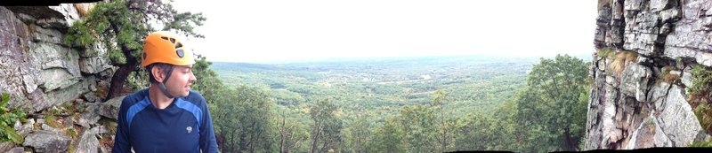 Rock Climbing Photo: Panoramic view from Tipsy Trees
