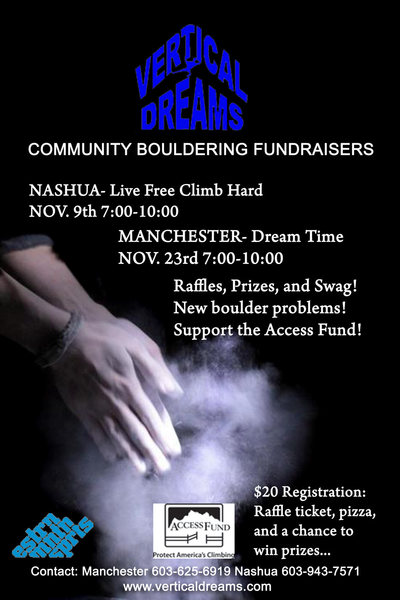 Rock Climbing Photo: Vertical Dreams will have 2 fundraising events thi...