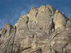 Rock Climbing Photo:  Aeolian Wall (Original Route)