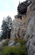 Rock Climbing Photo: Loaf and Jug follows the crack on the left side of...