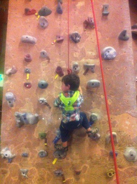 Rock Climbing Photo: ah yea!