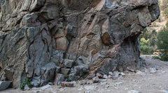 Rock Climbing Photo: NE face.