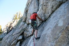 Rock Climbing Photo: Below the hanging groove at the top of the opening...