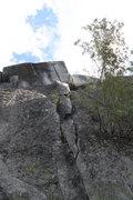 Rock Climbing Photo: It climbs much better than it looks....