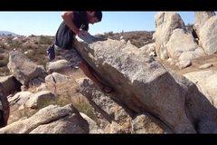 Rock Climbing Photo: Mantel finish