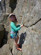 Rock Climbing Photo: Untieing after a climb
