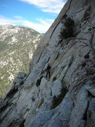 "Rock Climbing Photo: Approaching the ""Fool's Rush"" dihedral f..."