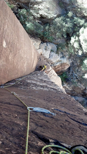 Looking down pitch 3.