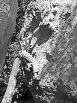 Photo taken from Chris Hubbard's website (http://www.climbingtoposofsandiego.com).