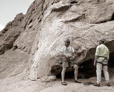 Rock Climbing Photo: West Point, start.