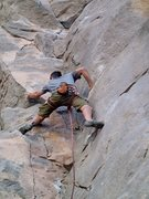 Rock Climbing Photo: Richard Robinson Steming through the fun beginning...