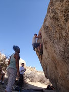 Rock Climbing Photo: Ted Frelke