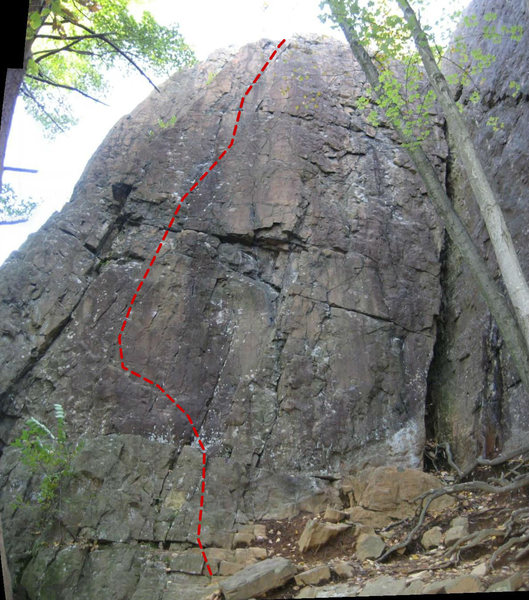 Rock Climbing Photo: The Entertainer